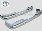 Mercedes W111 Coupe Stainless Steel Bumper