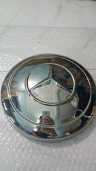 Mercedes Benz Stainless Steel Hubcap
