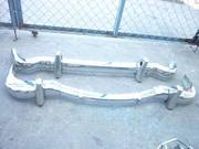 Mercedes Benz 190SL Stainless Steel Bumpers 1963