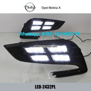 Opel Mokka X DRL LED Daytime Running Lights daylight for sale
